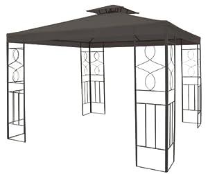 metall garten pavillon 3x3. Black Bedroom Furniture Sets. Home Design Ideas