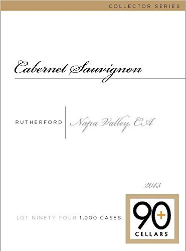 2013 90+ Cellars Lot 94 Rutherford Collector'S Series Cabernet Sauvignon 750 Ml