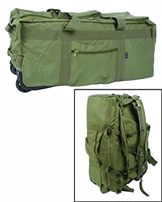 Tactical Cargo Bag With Wheels by Mil-Tec