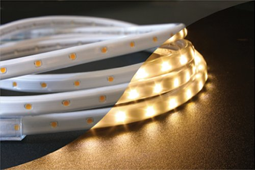 45.9' 120V Dimmable LED Strip Lighting Warm White Superior to LED Rope (Led Lighting Company)
