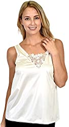 Womens Patricia Lingerie Luminesse Lace Detail V-Neck Camisole