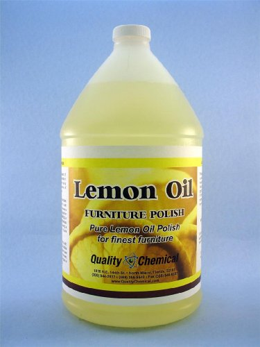 Lemon Oil - 4 X 1 Gallon Case front-90560