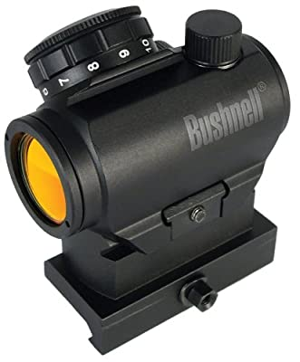 Bushnell AR Optics TRS-25 HiRise Red Dot Riflescope with Riser Block, 1x25mm by Bushnell