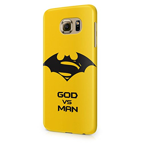 Batman V Superman Dawn Of Justice God Vs Man Hard Snap-On Protective Case Cover For Samsung Galaxy S6 (Not Edge)
