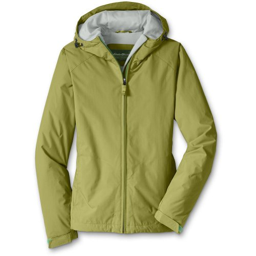 Eddie Bauer The Original Windfoil Jacket, Chartreuse L Petite