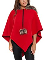 She's secret Poncho (Rojo)