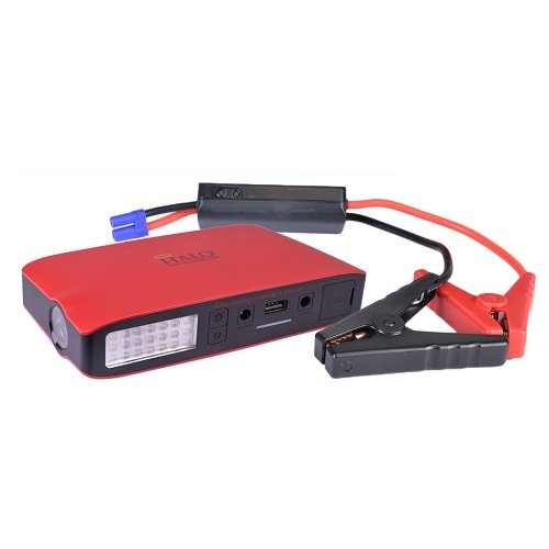 Halo Bolt 55500 Portable Emergency Charger/Multifunctional Jump Starter w/55500 mWh Power (Red) (Halo Car Battery Jump Starter compare prices)