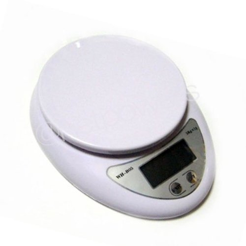 Digital kitchen scale 5 Kg 1 g units tare feature a digital weighing machine parallel import goods