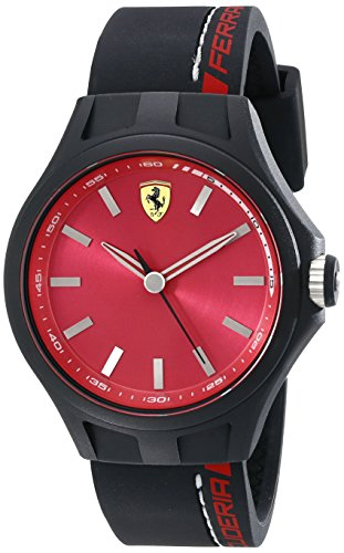 Ferrari De los hombres Scuderia Analógico Casual Cuarzo Reloj 0830219