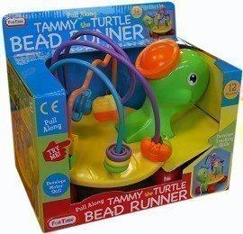 Pull Along Tammy the Turtle Bead Runner - 1