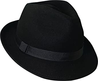 c94a95d7e57 Dorfman Pacific Men s Wool Felt Snap Brim Hat