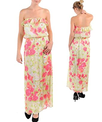 FLORAL MAXI DRESS