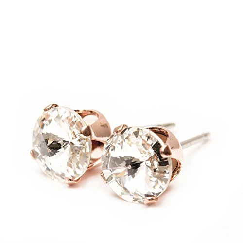 end-of-line-clearance-rose-gold-stud-earrings-expertly-made-with-sparkling-crystal-from-swarovskir