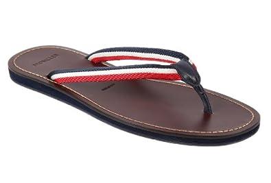 moncler herren leder flip flops zehentrenner sandalen ajaccio braun eu 40 31 09a 0041600 04279. Black Bedroom Furniture Sets. Home Design Ideas