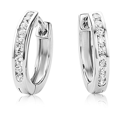 miore-sterling-silver-womens-channel-set-zirconia-hinged-hoop-earrings