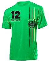 4 STERNE FANSHIRT DEUTSCHLAND FUSSBALL EM 2016 T-Shirt Herren S-XXL