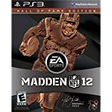 Electronic Arts 19691 Madden NFL 12 HOF PS3