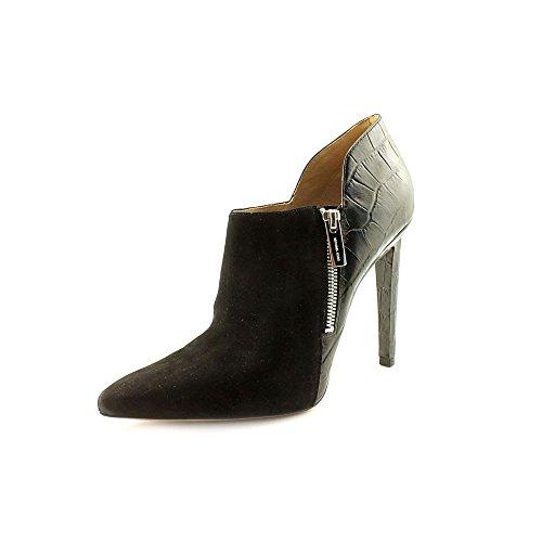 Michael Kors Samara Womens Size 9.5 Black Suede Booties Shoes