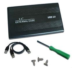TRICOM Sata Casing 2.5-Inch Laptop Hard Disk Drive Case (Black)
