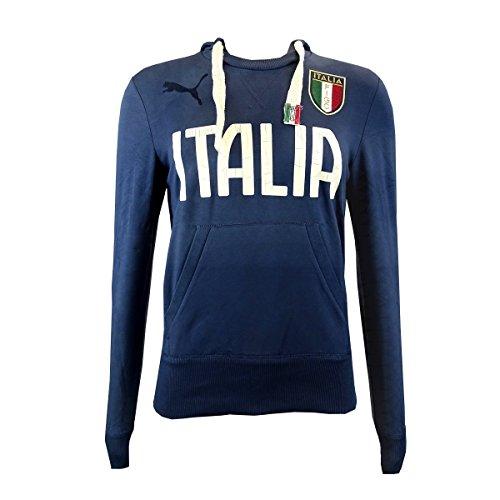 PUMA-Felpa con cappuccio da uomo, nazionale italiana sudore 746497 03