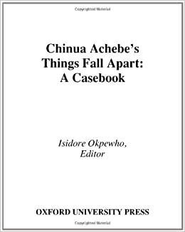 critical essays on chinua achebe The literary works of chinua achebe basically revolve around issues touching directly or indirectly on cultural traditions, effects of.
