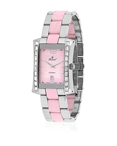 Bassel Reloj con movimiento cuarzo suizo CR3024P Plateado / Rosa 27  mm