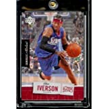 2005 06 Upper Deck Rookie Debut Allen Iverson Philadelphia 76ers Basketball Card #69... by Upper+Deck