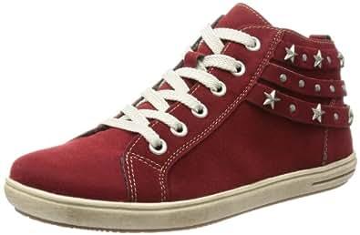 Rieker Kinder Rieker Teens K3075, Mädchen Sneaker, Rot (vino 33), EU 41