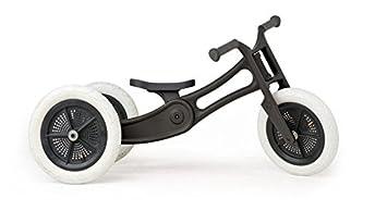 Wishbone 3 in 1 Design Bike - Draisienne Enfant - Recycled Edition noir 2016 velo bebe fille