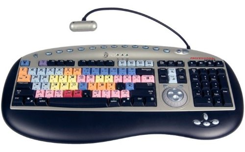 Bella Pro Series 3.0 Editing Keyboard For Avid Media Composer, With Usb Ports, For Mac & Windows.