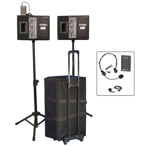 Amplivox Complete Wireless Pa System