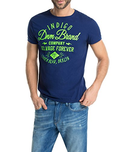 edc by ESPRIT Slim Fit - Camiseta, con manga corta, con cuello redondo para hombre