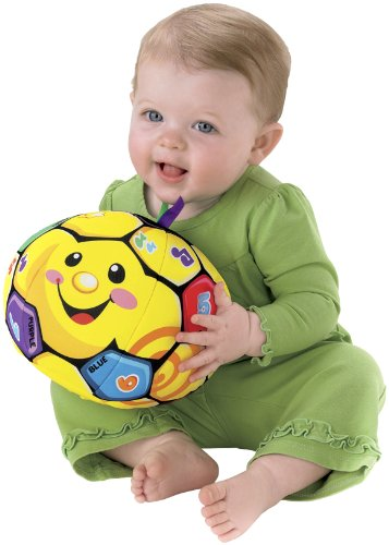 Fisher-Price Laugh & Learn Singin' Soccer Ball - 1
