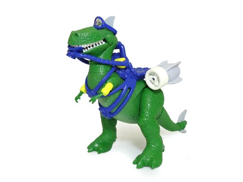 "Toy Story 4"" Deep Dive Aqua Rex Figure"