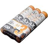 ミヨシ MCO FAX用感熱ロ-ル紙 高耐久タイプ A4 0.5インチ芯 15m 3本入り FXH15AH-3