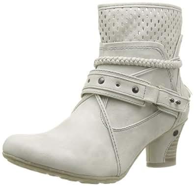 Mustang 1156501, Boots femme - Ivoire (203 Ice), 37 EU