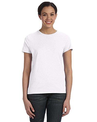 hanes-classic-maglietta-in-jersey-da-donna-45-g-bianco-medium