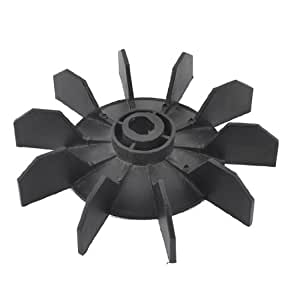 replacement black plastic inner dia 12mm 10 impeller motor