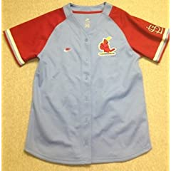 St Louis Cardinals Jersey (L) by Nike