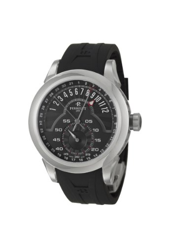Perrelet Titanium Regulator Retrograde Men's Automatic Watch A5001-2
