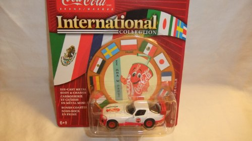 JOHNNY LIGHTNING COCA-COLA INTERNATIONAL COLLECTION 1999 DODGE VIPER GTS-R DIE-CAST COLLECTIBLE