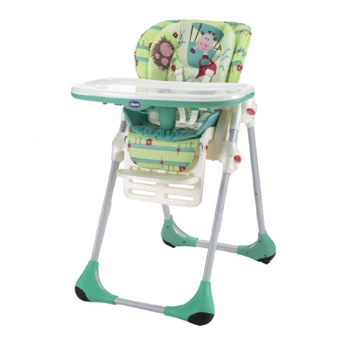 Chicco 06079065030000 Hochstuhl Polly 2-in-1 Greenland