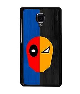 printtech Two Face Superhero Avengers Back Case Cover for Xiaomi Redmi 1S::Xiaomi Redmi (1st Gen)
