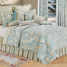 Natural Shells 90 x 92 Full/Queen Quilt (Natural Shells Bedding compare prices)