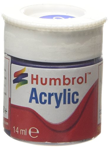 Humbrol Acrylic Paint, Baltic Blue - 1