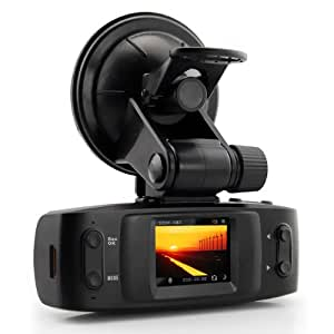 "GS1000 FULL HD 1080P 1.5"" LCD Display 5MP Car Cam Recorder DVR With GPS G sensor Google Map, Extend to 32GB TF Card"
