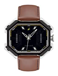 Fastrack Analogue Black Dial Men Watch - (3100SL02)