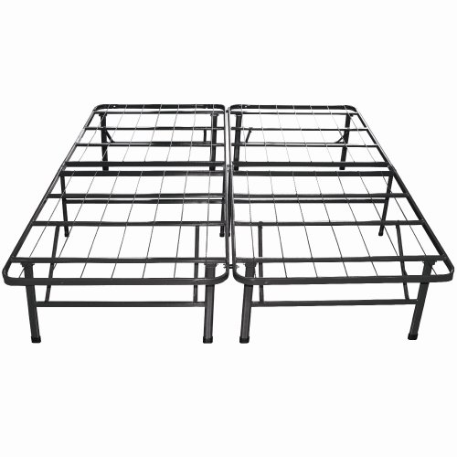Night Therapy Sleep Revolution Platform Metal Bed Frame/Mattress Foundation, Queen front-5812