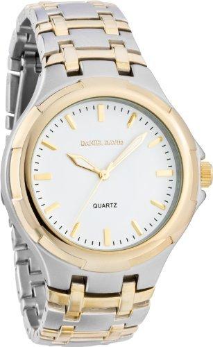 daniel-david-dd11901-montre-homme-quartz-analogique-bracelet-metallique-et-cadran-or-blanc