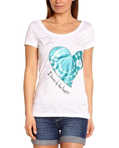 Desigual T-Shirt Priscila weiß